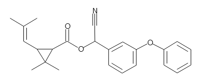 Cyphenothrin, 100 ug/mL in MethanolCyphenothrin , 100 ug/mL in Methanol
